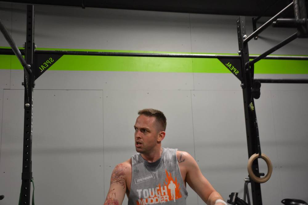 Bro-Reps, oh yeah, they count ... just kidding, Josh rocking 16.1 Rx