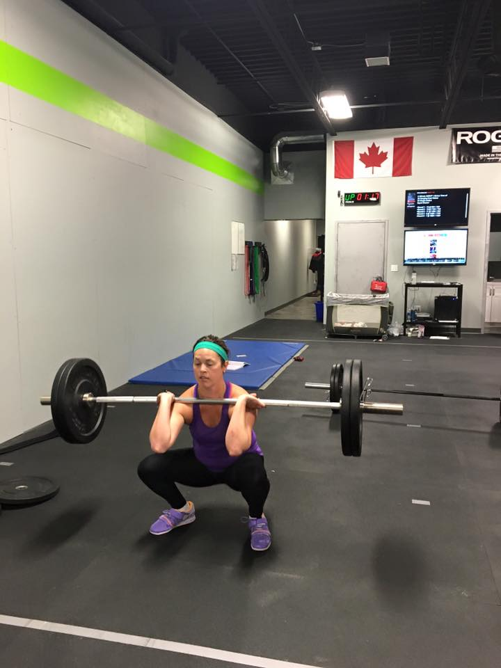 Carly taking on 16.2 and making it look easy