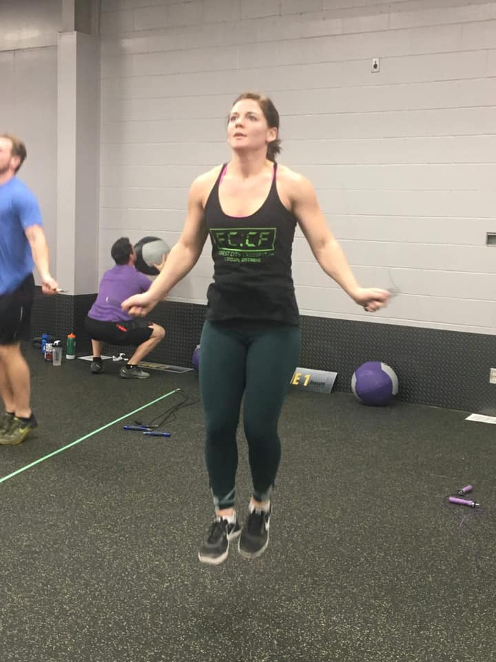 Did 19.2 remind you to work on Double-Unders? Here are some pointers from Games Athlete Dan Bailey:  Double-Under Pointers