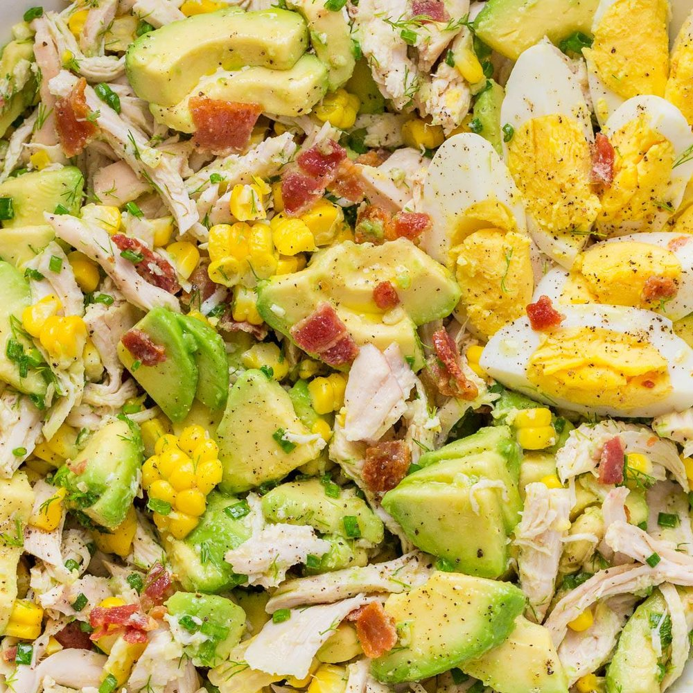 "Keep it Easy but Tasty. Fuel your performance for that ""beach body"" with this Avocado Chicken Salad recipe:   Avocado Chicken Salad Recipe"