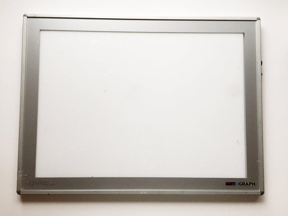 AutographCalligraphyLightboard