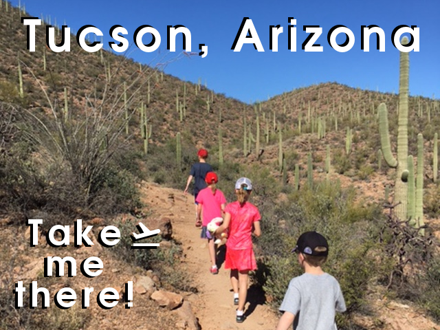 Short travel story about our visit to Tucson, Arizona.