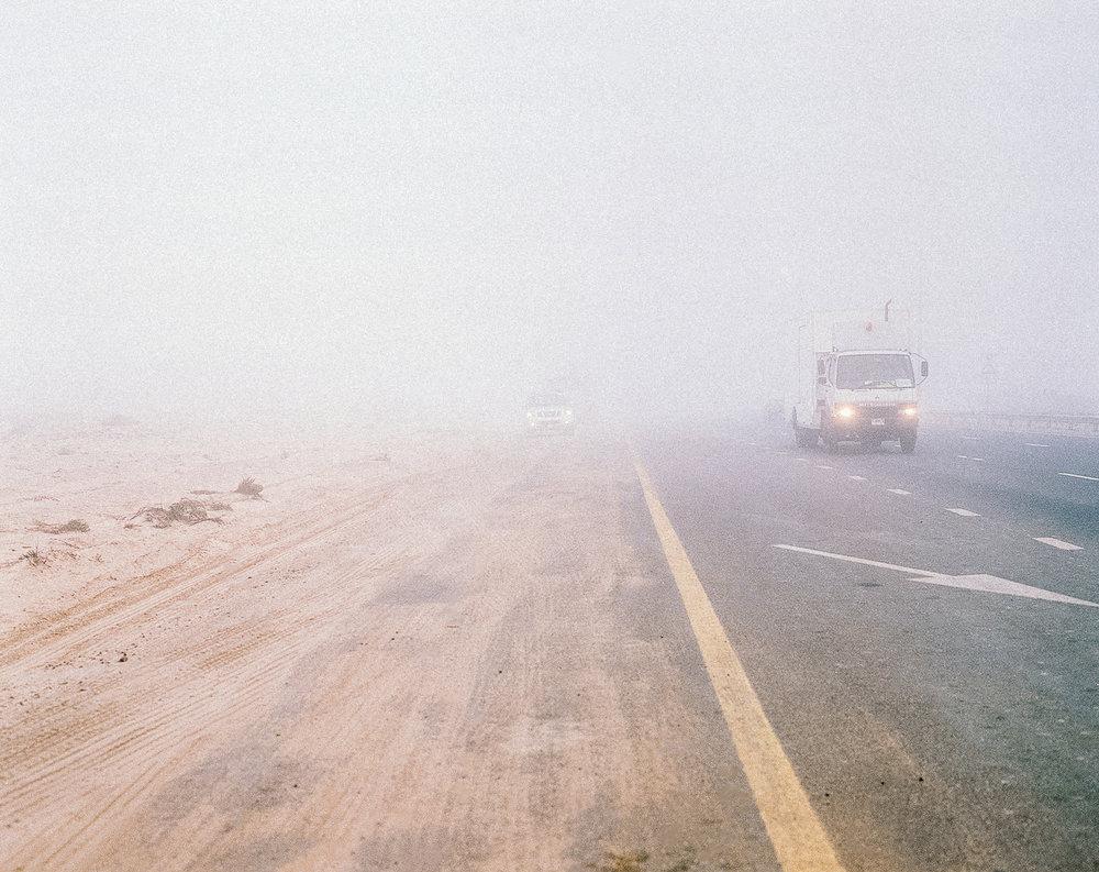 Sandstorm in Dubai, 2017-