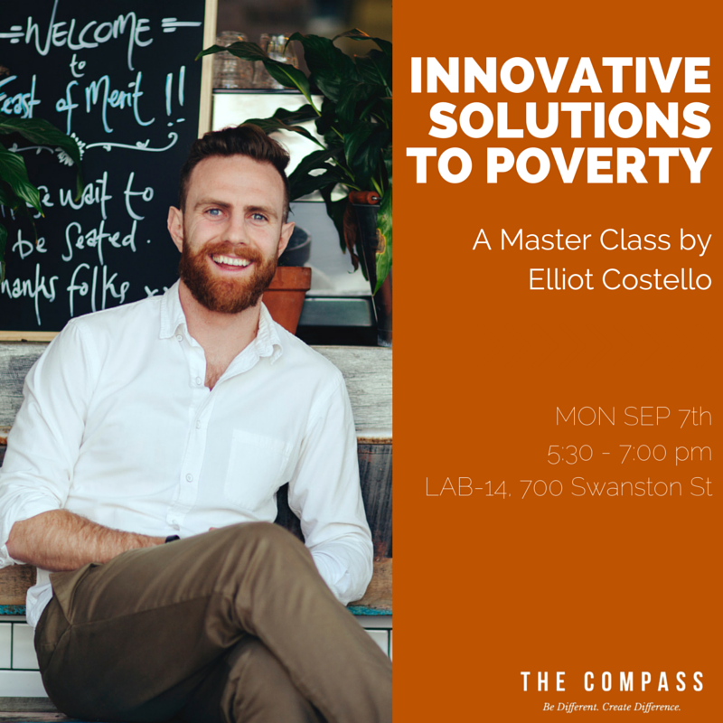Elliot Costello's Master Class for The Compass - not to be missed!