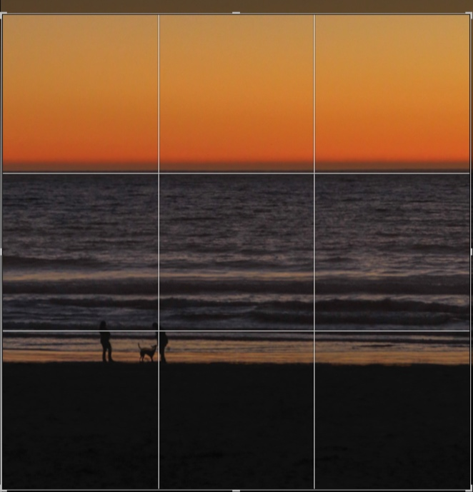 Using the rule of thirds..can be done in camera using the built in guidelines or in post processing