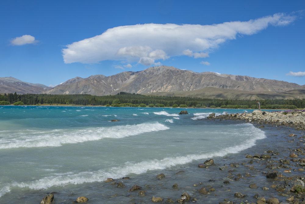 Lake Tekapo..yes its a lake ..