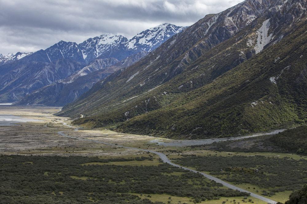 Aspiring National Park home of Mount Cook