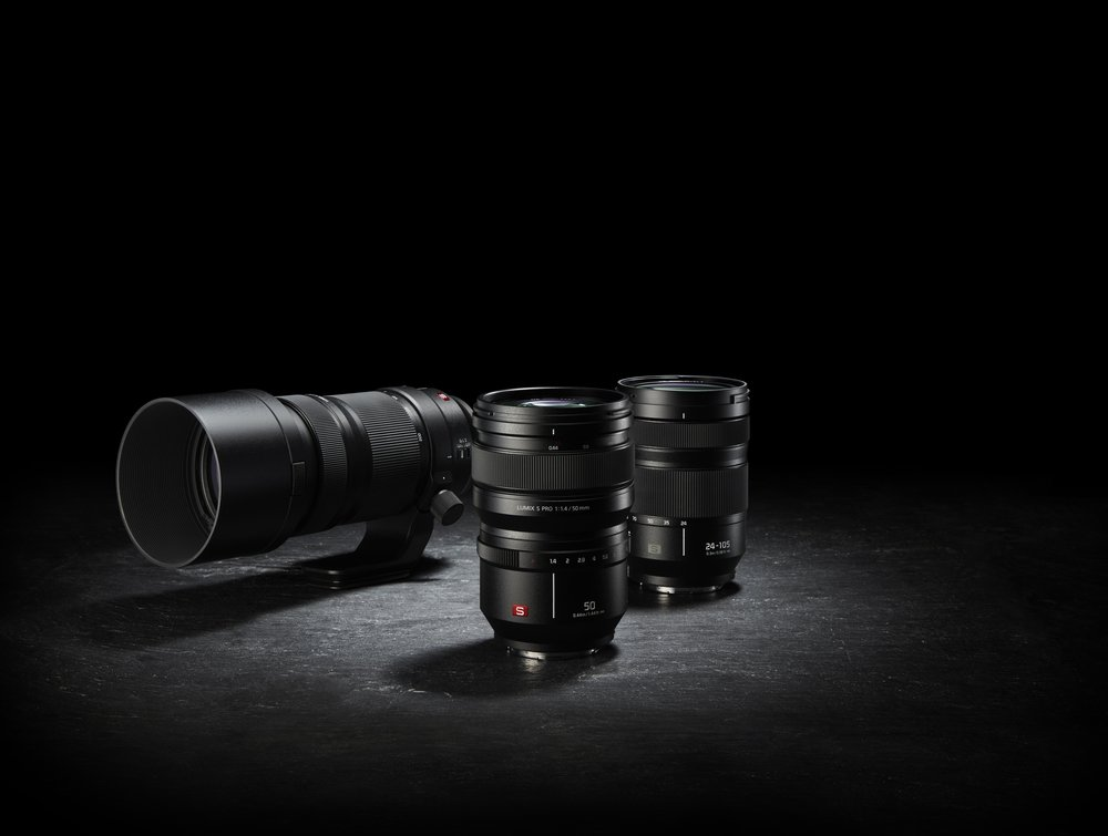 First three lenses for the Panasonic S system