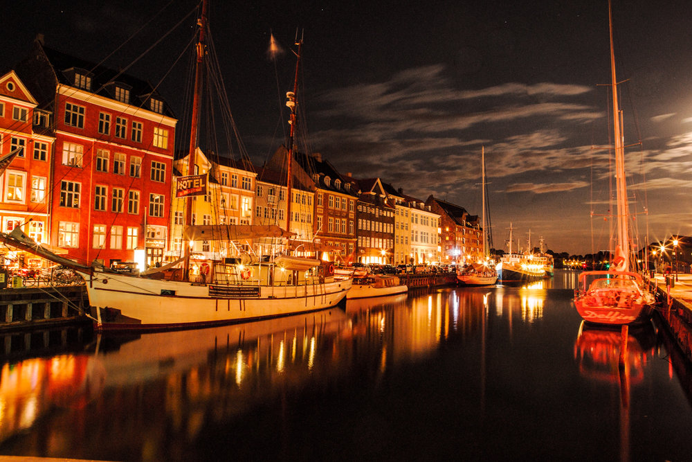 Calm Night at Nyhavn