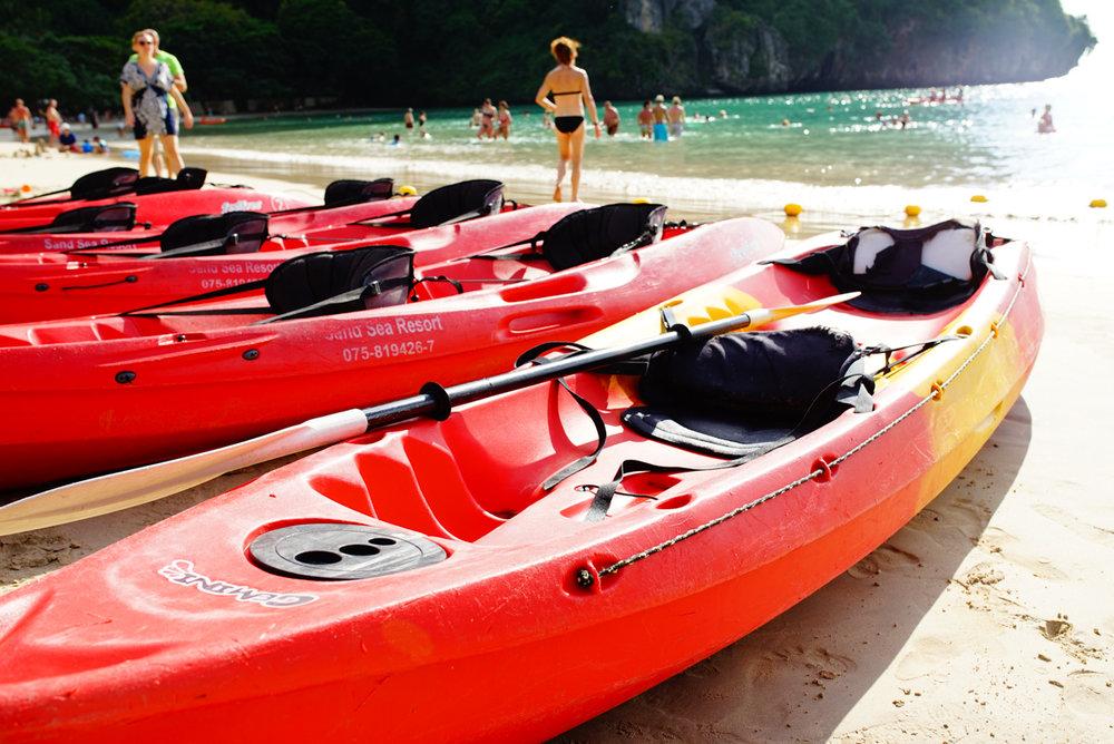 Krabi Beach Scene