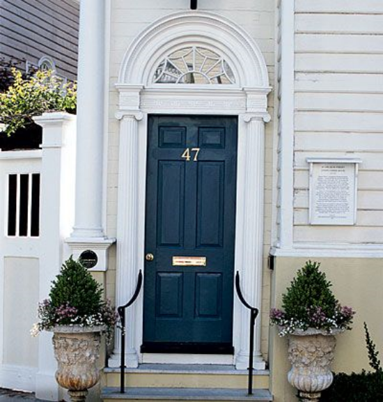 Driving Curb Appeal With Your Front Door Color Blue Door