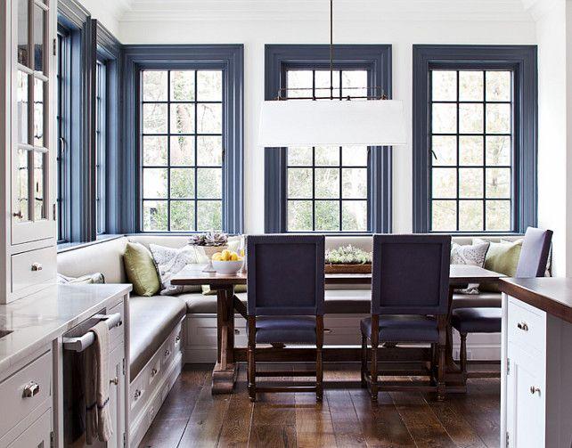 New Trend Bold Trim Blue Door Living