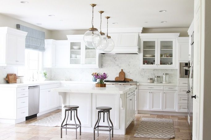 Cozy Classic White Kitchen Inspiration - Blue Door Living