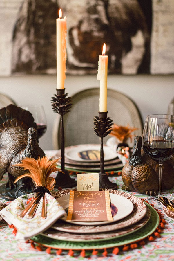 candlestick-thanksgiving-table