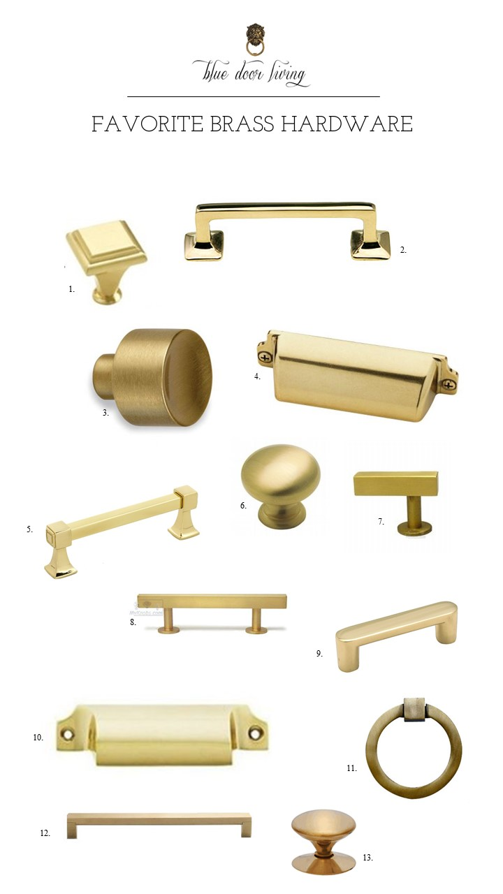 brass hardware roundup