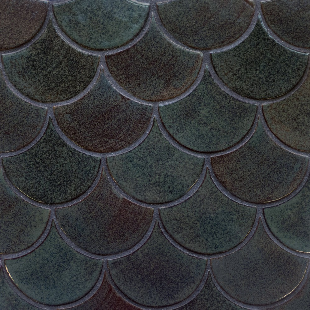 Medium Moroccan Fish Scales - 28 Everglades