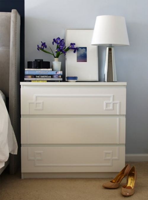 best of ikea malm series hacks blue door living. Black Bedroom Furniture Sets. Home Design Ideas