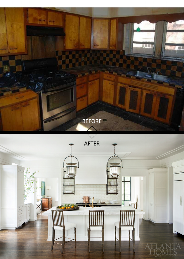 evan cucich house peachtree battle kitchen before and after