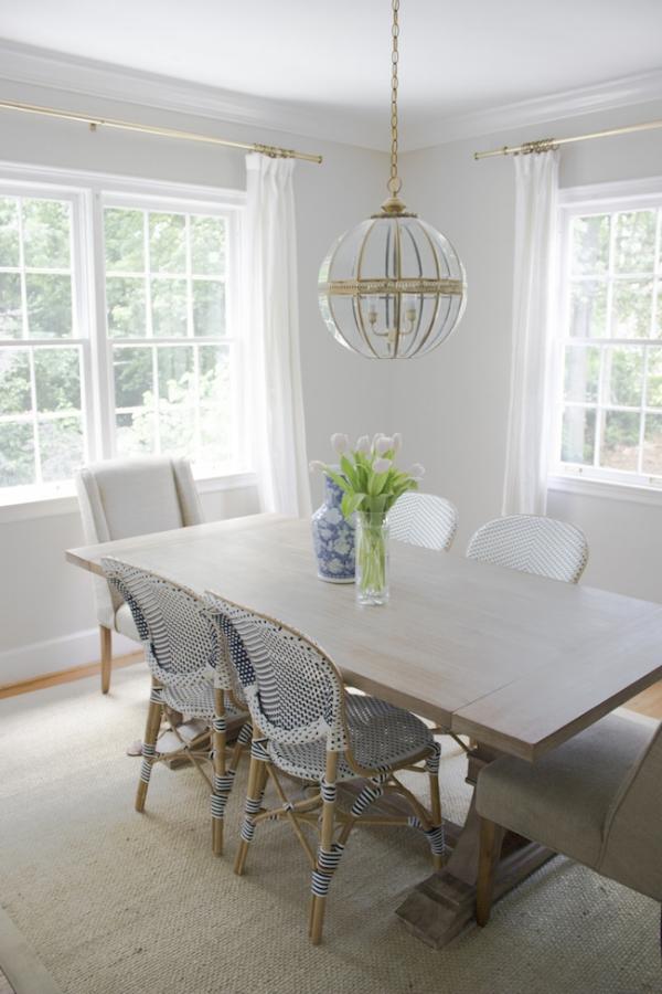 dining room popular gray