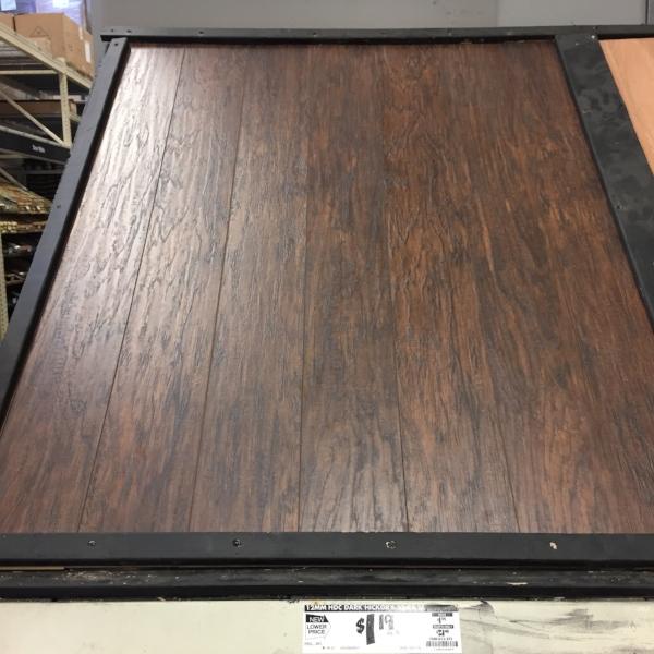 Linoleum Faux Wood Flooring: Before & After: Faux Wood Floors
