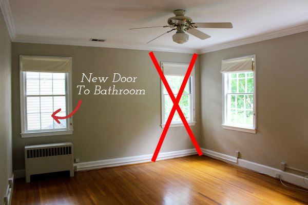 renovation master bathroom