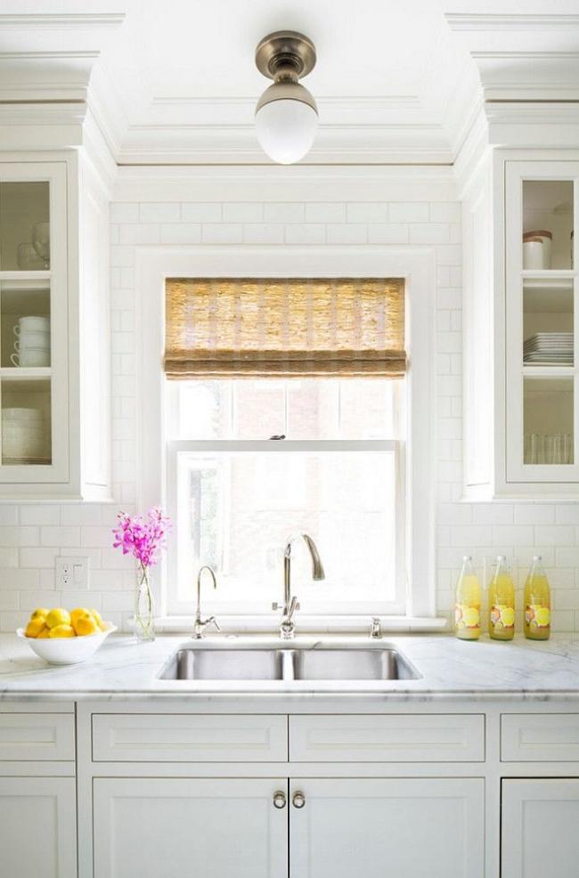 white classic kitchen
