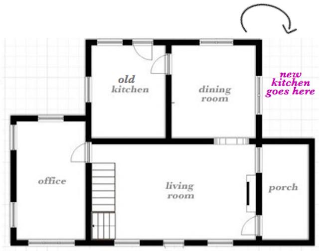 new kitchen floorplan