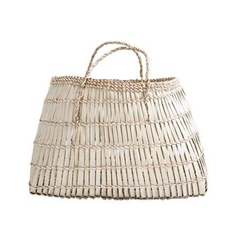 palm market basket - sold By Blue Door Living