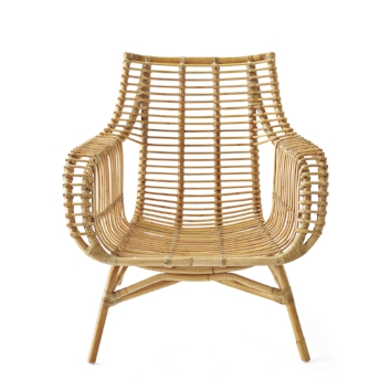 Venice rattan chair - sold by serena and Lily
