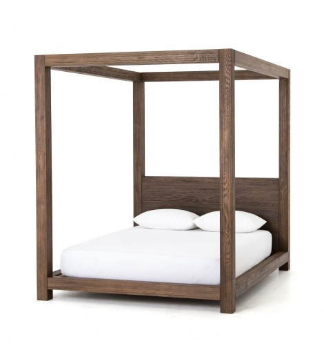 adelka bed, oak - Sold By Lulu & Georgia