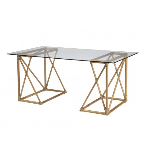 chaya desk neutral - Sold By Lulu & Georgia