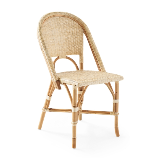 riviera side chair, natural - Sold By Serena & Lily