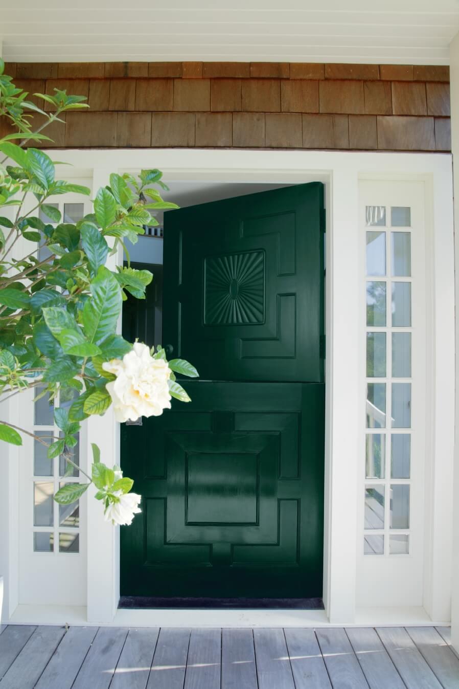 Trend: A New Standout Color For Your Front Door — Blue Door Living