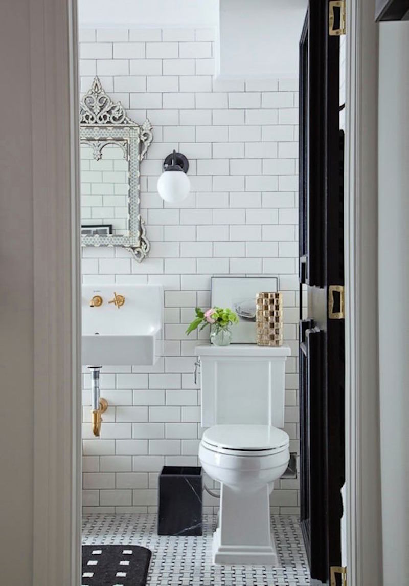 Our Guest Bath Design — Blue Door Living
