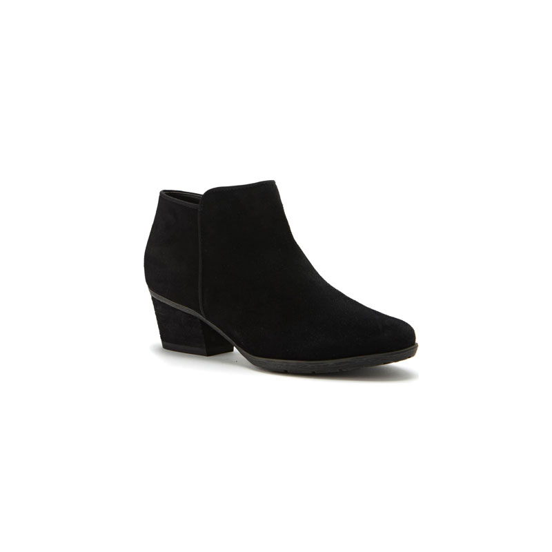 Waterproof Suede Booties - BLONDO