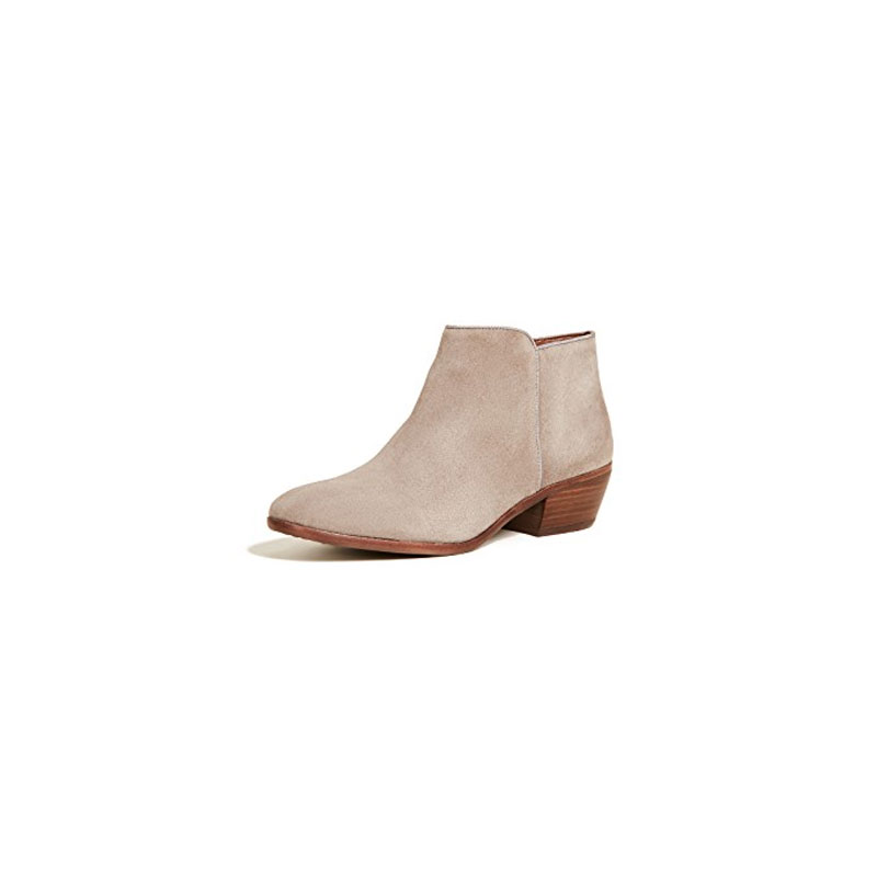 Suede Booties - SAM EDELMAN