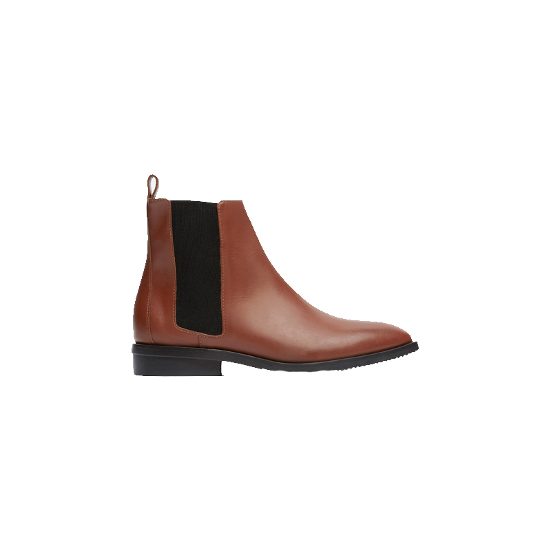 Two-Toned Booties - EVERLANE