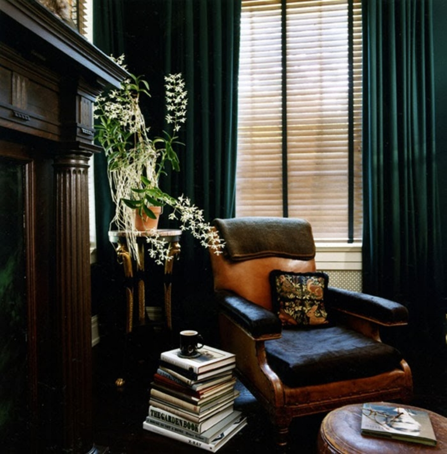 Traditional Study Room: A Traditional Masculine Southern Study
