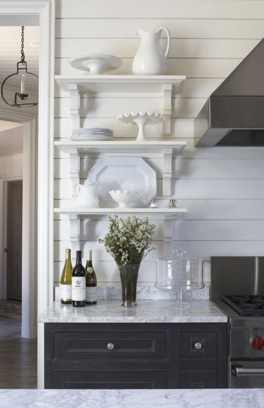 shiplap is a great alternative for kitchen backsplash and brings charm to a kitchen  it u0027s a wooden board that u0027s often used in barns and outside buildings     11 backsplash alternatives to subway tile   blue door living  rh   bluedoorlivingblog com