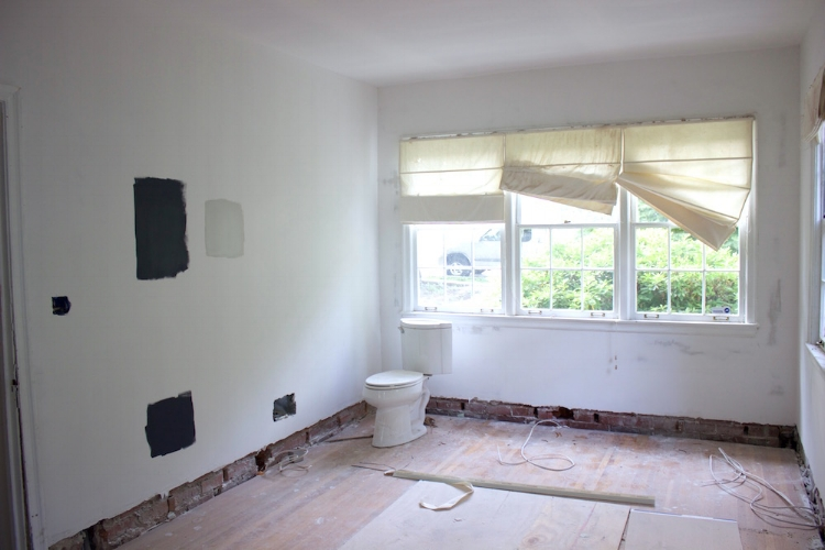 blue door living renovation office