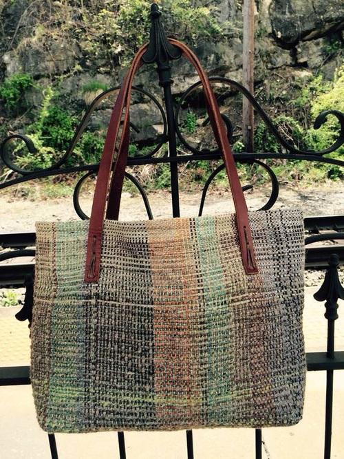 Handwoven Market Bag. Staunton's Favorite Things.