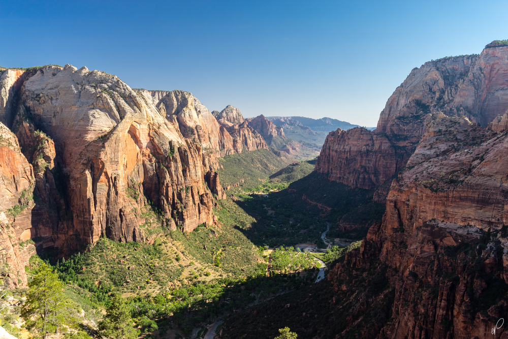 The view from Angel's Landing