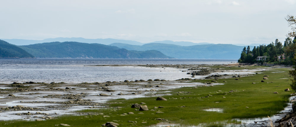 The last photo from Saguenay's Fjord