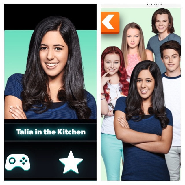 Maria: now actress hosting Nickelodeon's Talia in the Kitchen