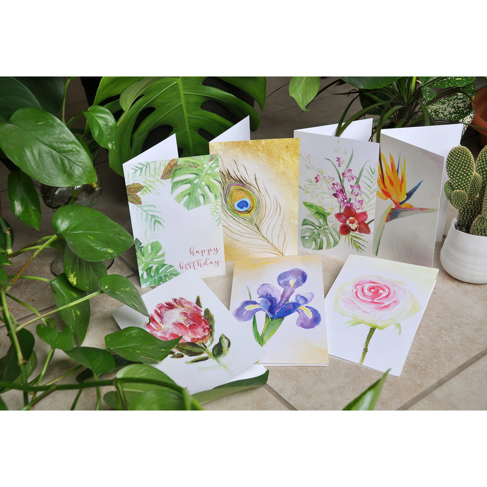 Never Wilting Blank Greeting Cards Molly Zager