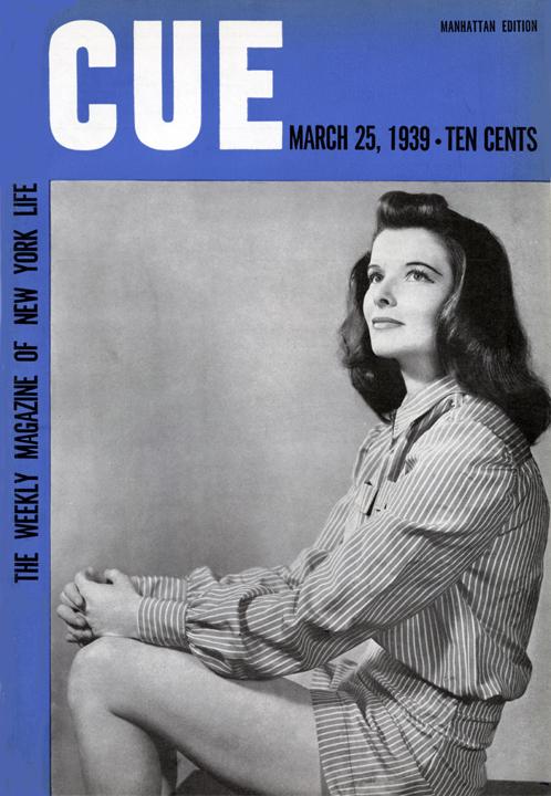 CUE March 25, 1939