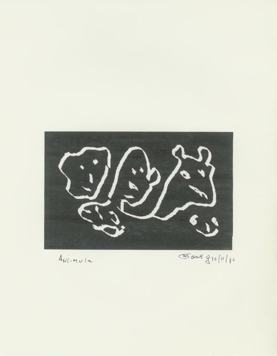 Ani-Mule #1  10/11/86