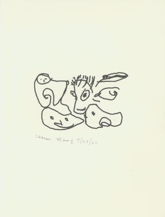 Horses  7/23/1986