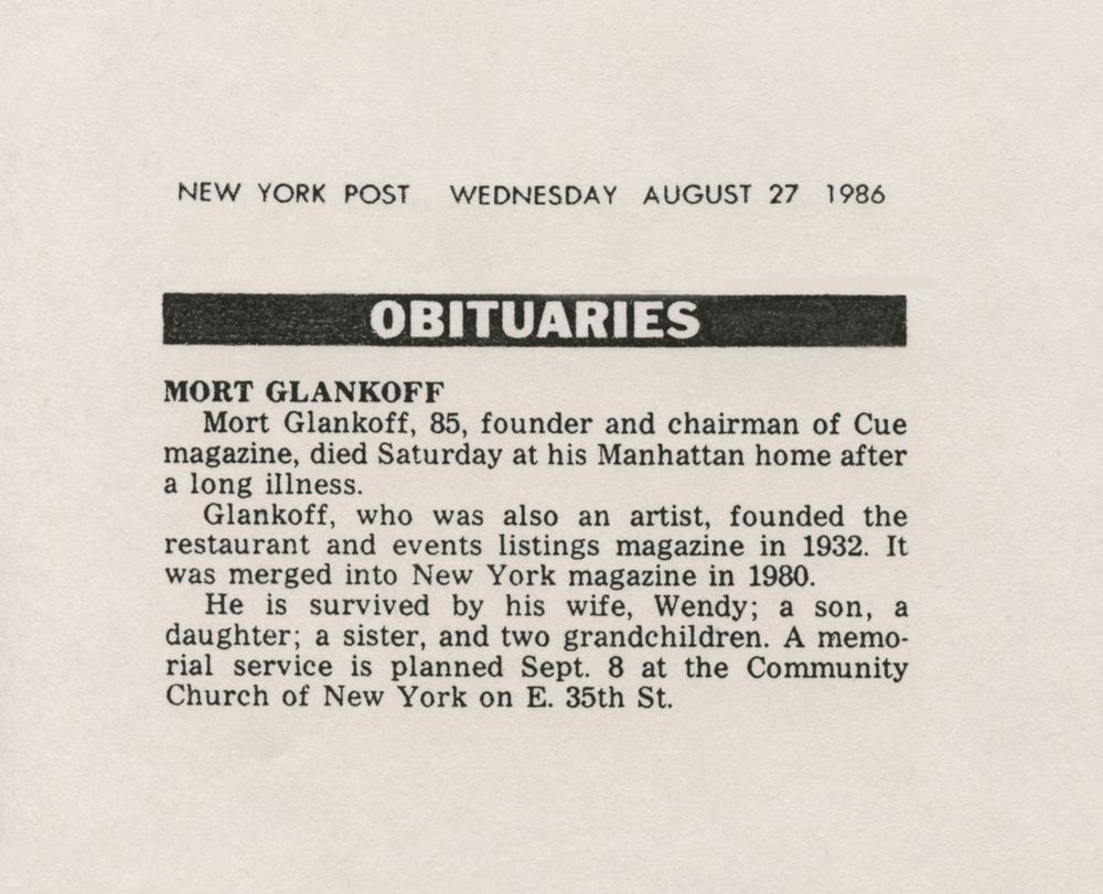 Mort Glankoff Obit New York Post.jpg