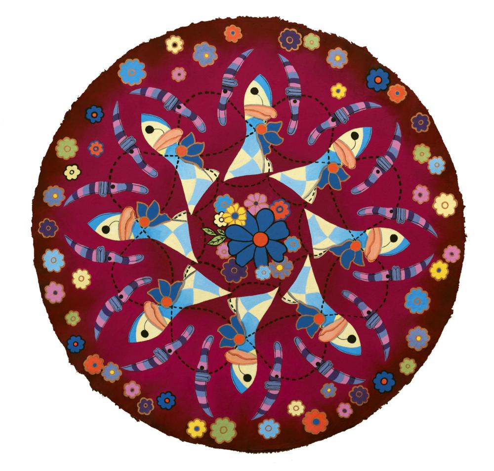 Duck Mandala